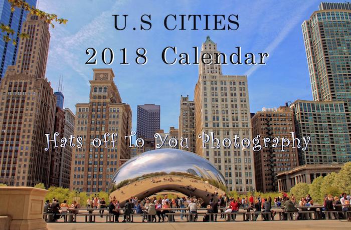 2018 cities calendar